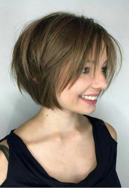 Short Layered Haircuts-13