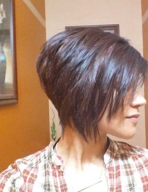 14 Short Bob Hairstyle Stacked Hairstyles Haircut