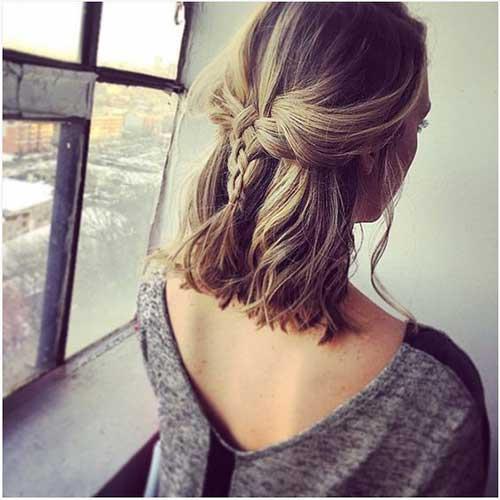 Braided Short Hair Styles