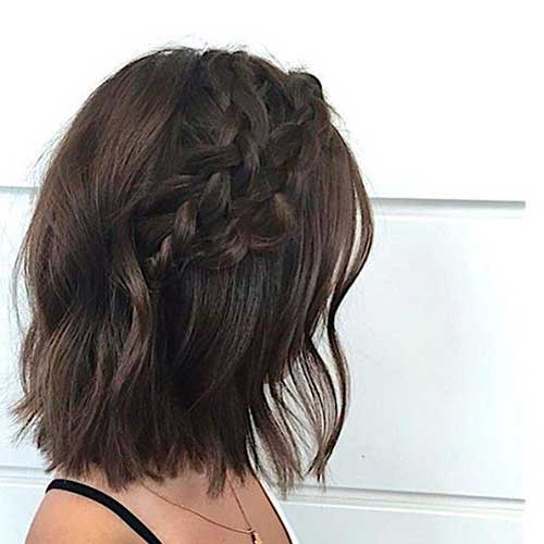 Braided Short Hair