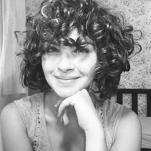 Curly Short Haircut