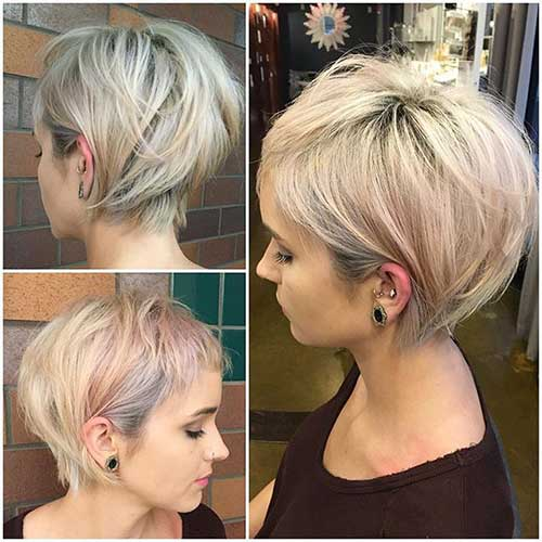 Layered Short Hair