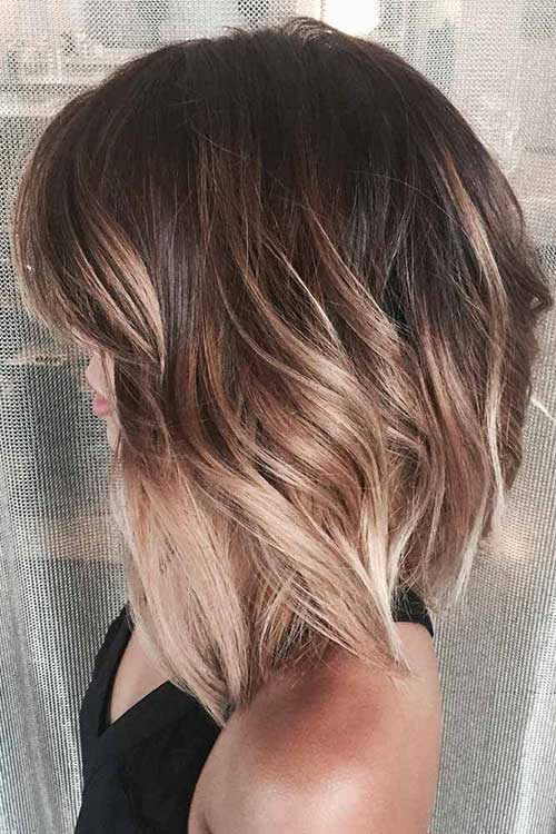 Short Hair Color Style