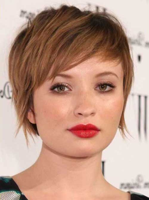 Short Haircuts for Round Face-11