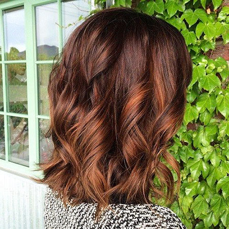 Brown, Copper Highlights