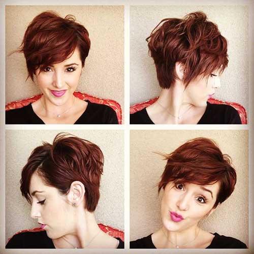 15.Short Hair Color