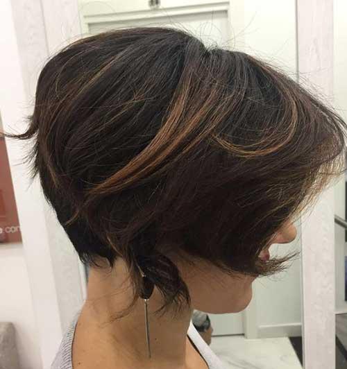 16.Short Hair Color