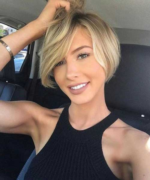 Short Haircuts for Round Face-8