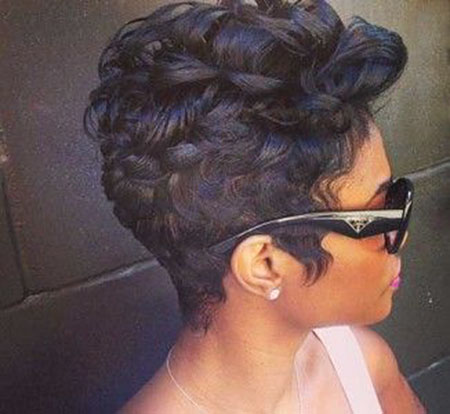 Pixie Hair, Short Black Hair Women