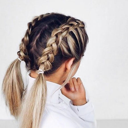 French Braids, Hair Braids Hairtyles Braid
