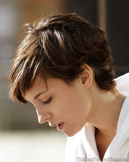 Pixie Hair, Pixie Short Thick Tapered