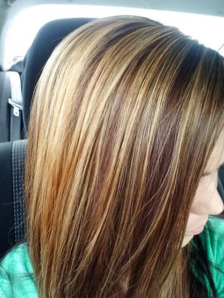 Highlights Brown Hair Blonde