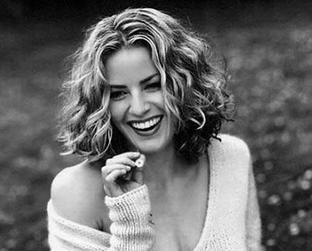 Curly Shue Marilyn Hairtyles