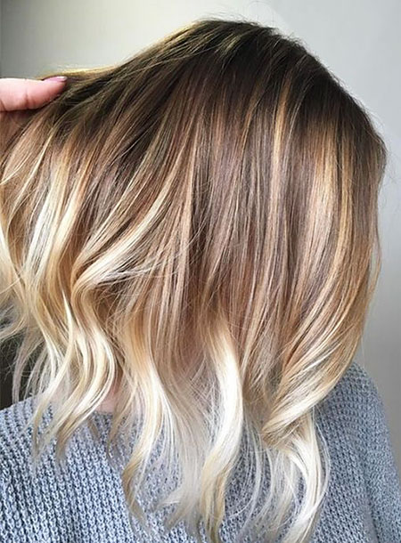 Blonde Color Balayage Hair