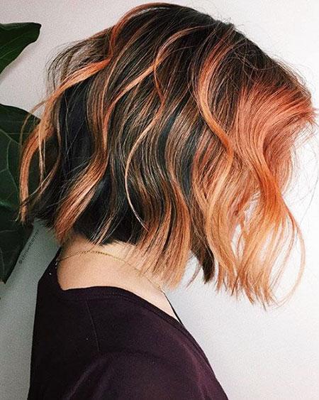 Balayage Hair Bob Color