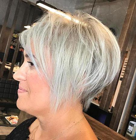 Pixie Blonde Hair Fine