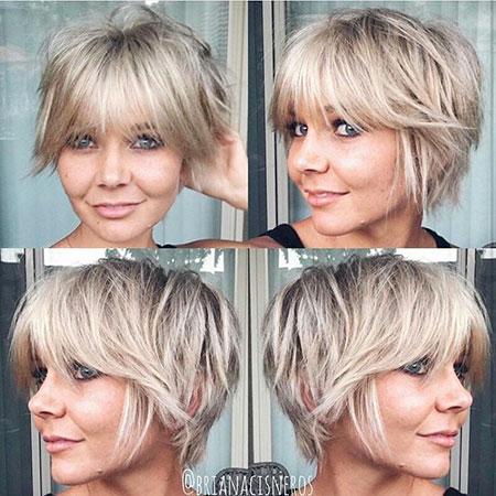 Pixie Short Hair Gray