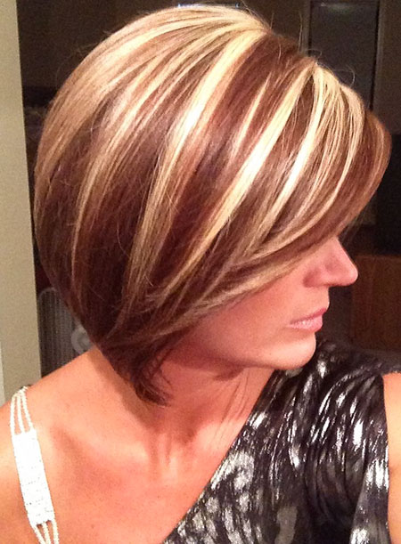 Highlights Hair Color Blonde