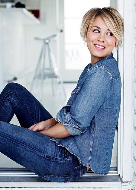 24 Kaley Cuoco Short Hair Short Hairstyles Amp Haircuts