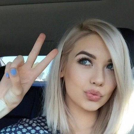 Blonde Steele Medium Makeup