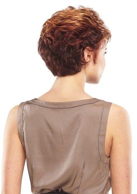 Short Hair Women Woman