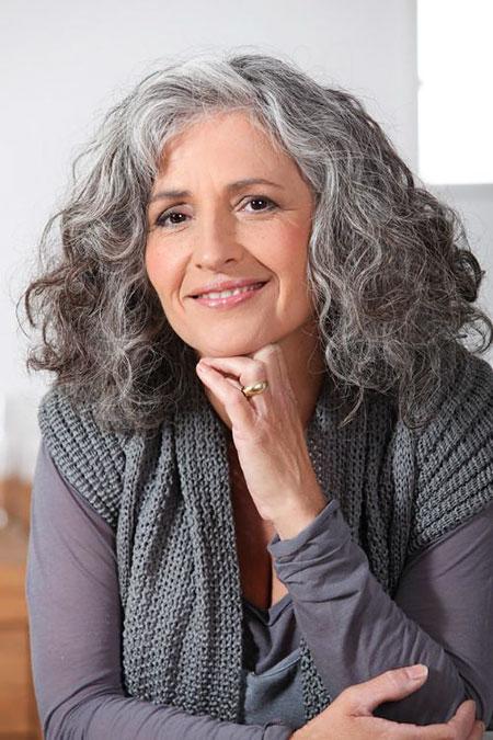 Hair Curly Women Long