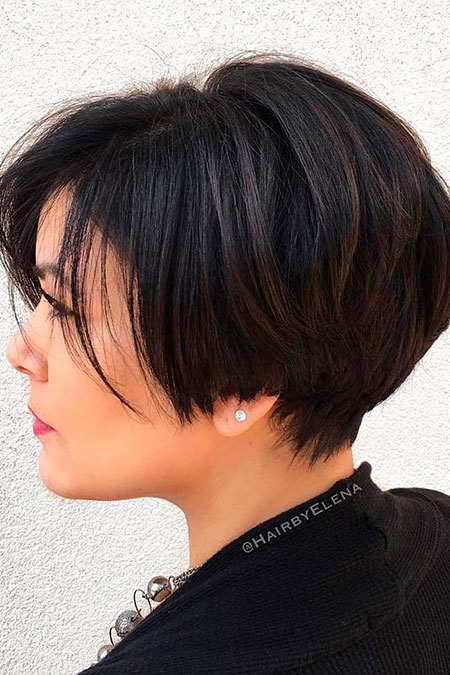 Short Bob Trendy Years