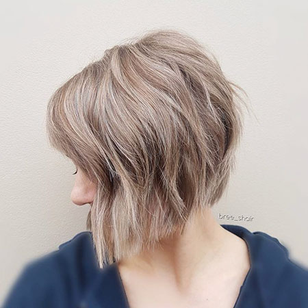 Bob Blonde Women Undercut