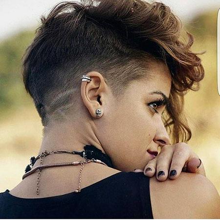 Hair Short Pixie Womens