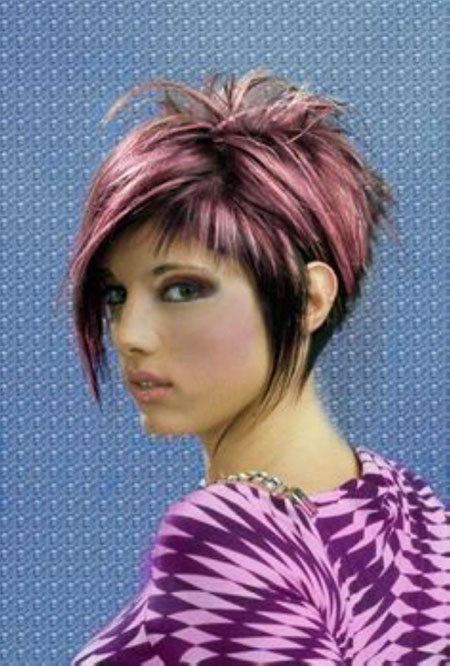 Hair Short Color Style