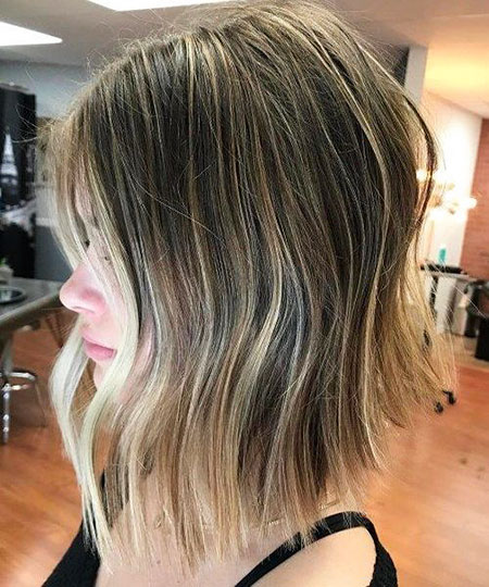 Bob Blonde Balayage Hair