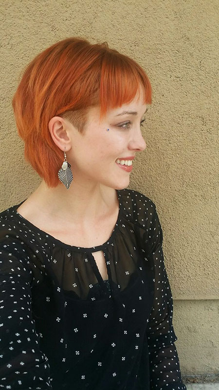 Undercut Hair Short Hayley