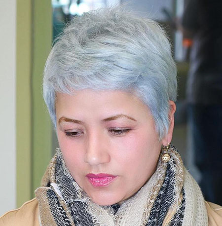 Short Round Pixie Haircuts