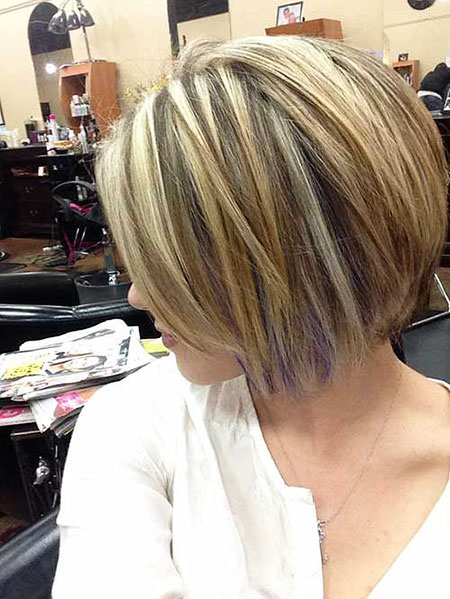 Bob Haircuts Blonde Women