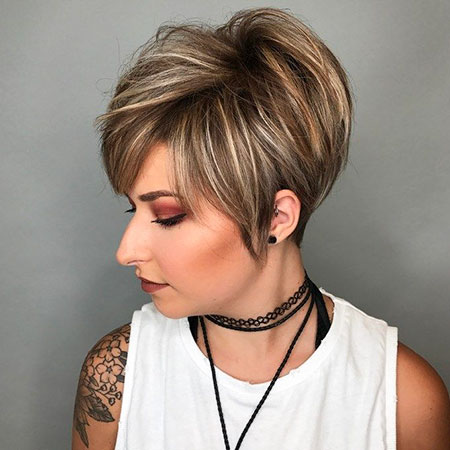 Pixie Short Long Hair