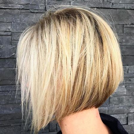 Bob Blonde Balayage Haircuts