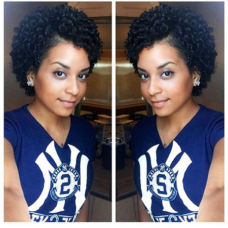 Natural Hair Curly Black