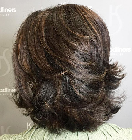 Layered Medium Length Hairtyles