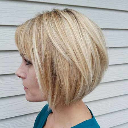 Bob Blonde Layers Haircuts