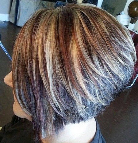 Bob Balayage Thick Blonde