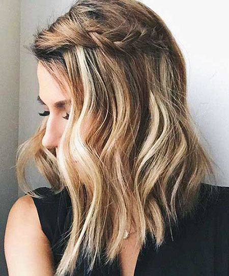 Balayage Hair Cute Blonde