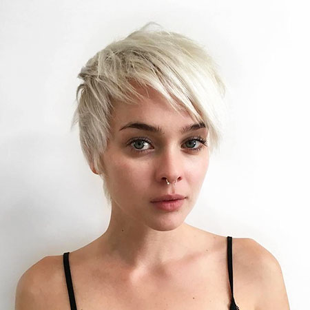 Pixie Short Hair Blonde