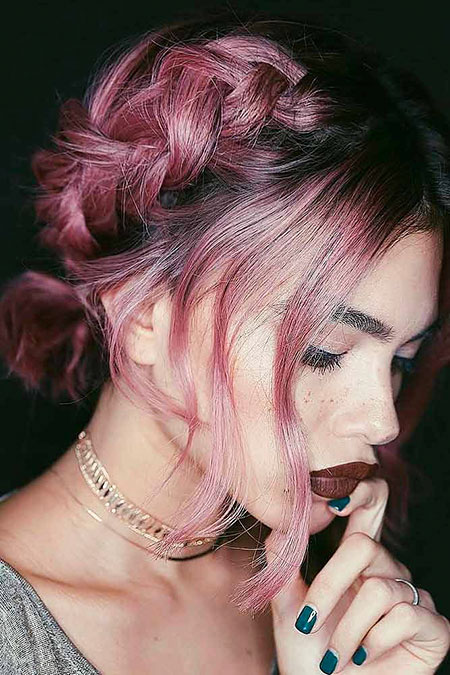 Cute Hair Color, Hair Style Simple Short