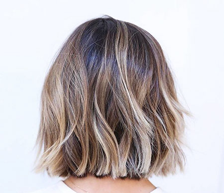 Choppy Bob Hair, Bob Balayage Hair Brown