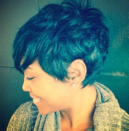Cute Black Girl Short Hair, Short Black Women Pixie