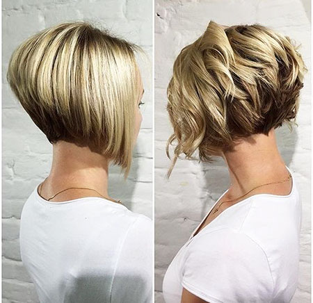 Stacked Bob, Bob Undercut Hair 2017