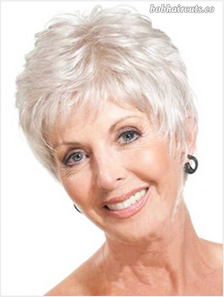 Short Haircut for Older Women, Hair Women Short Over