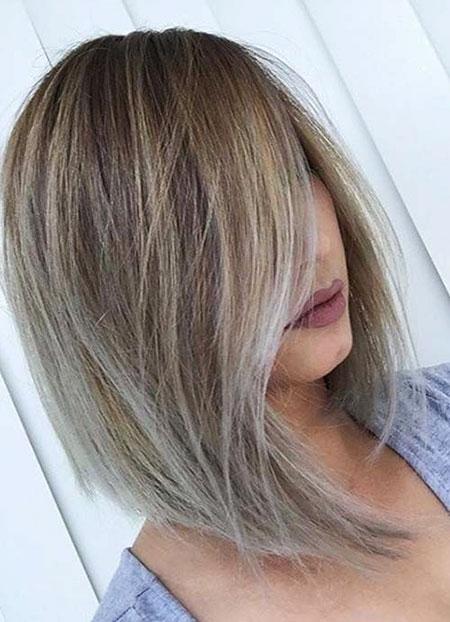 Blonde Balayage Hair, Blonde Bob Balayage Women