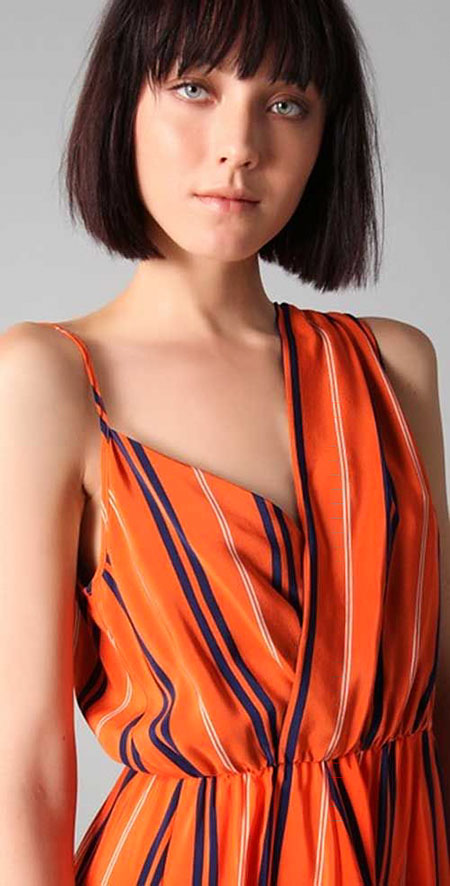 Textured Hair, Bob Short Hair Bangs