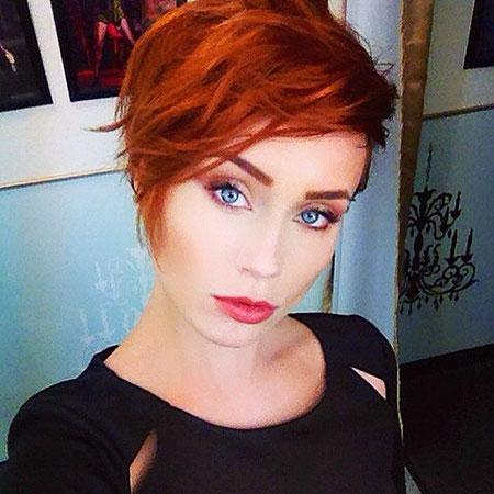 Pixie Hair, Short Pixie Hair Red
